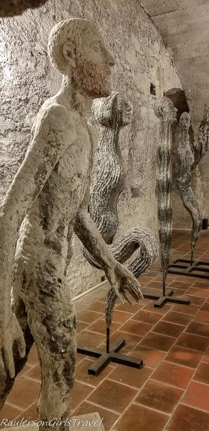 Olbram Zoubek sculptures