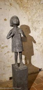 Olbram Zoubek little girl sculpture