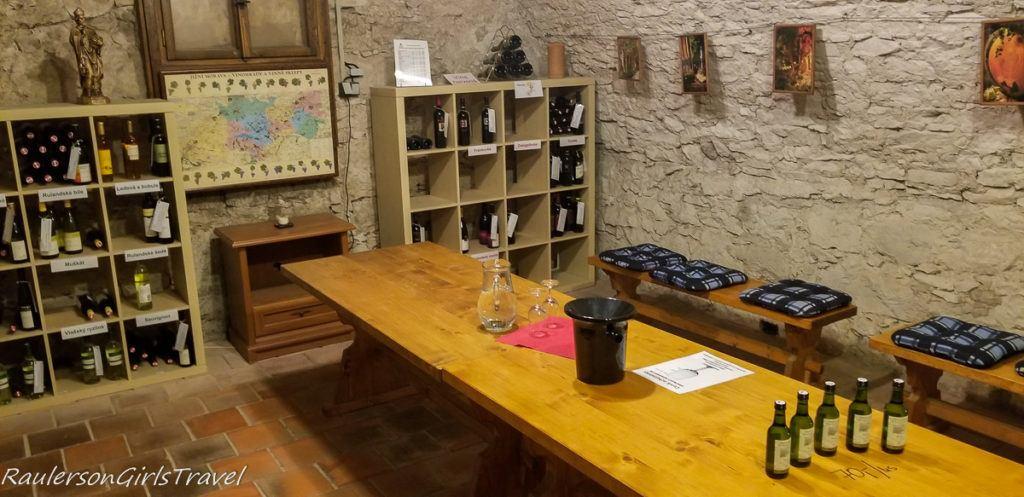 Litomyšl Castle wine cellar