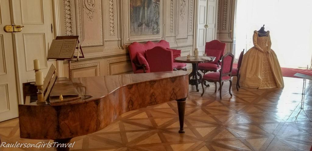 Litomyšl Castle piano room