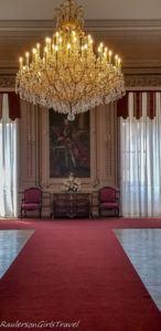 Litomyšl Castle chandelier