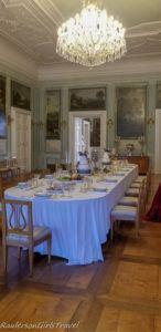 Litomyšl Castle formal dining room