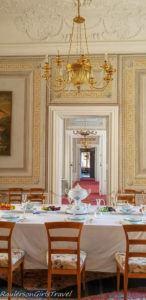 Litomyšl Castle dining room