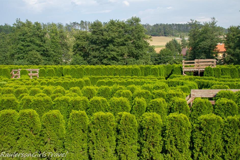Nové Hrady Chateau maze