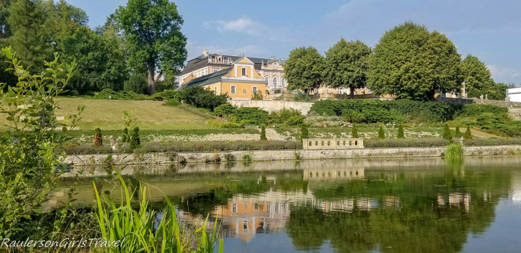 Nové Hrady Chateau front view