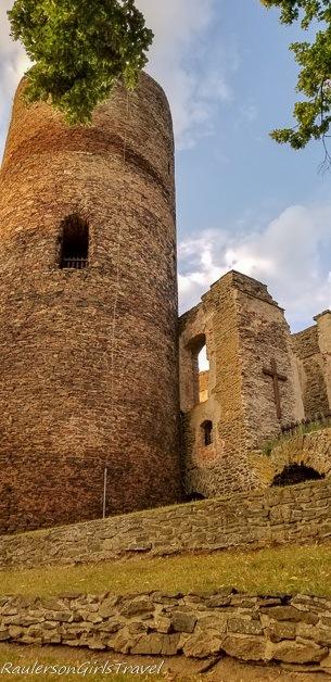 Hrad Svojanov watchtower