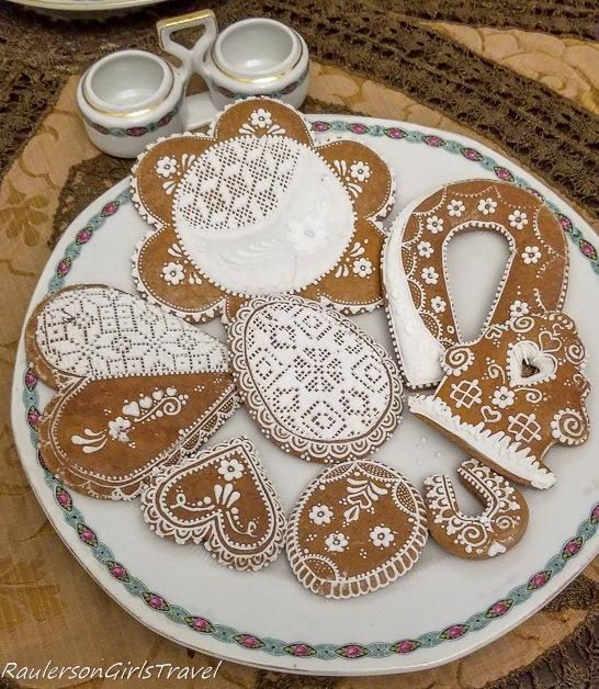 Hrad Svojanov gingerbread