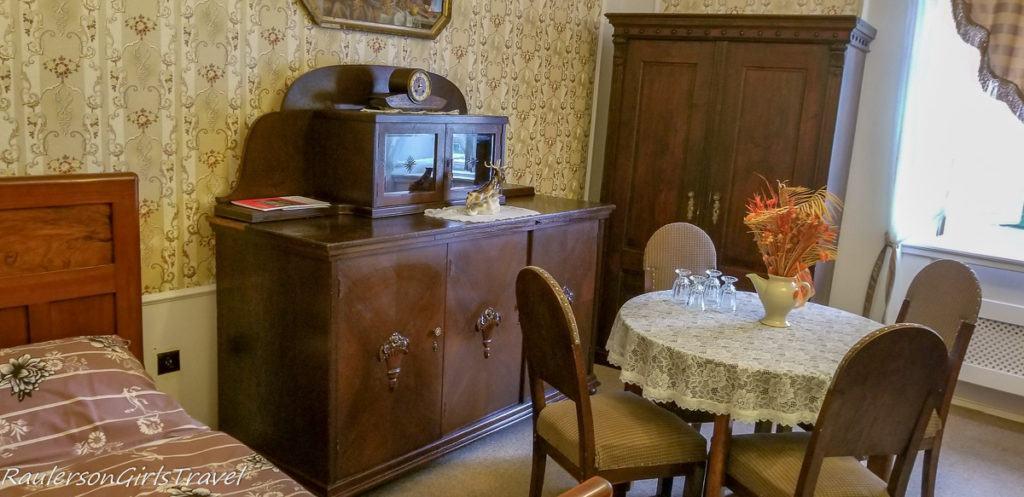 Bedroom at Svojanov Castle