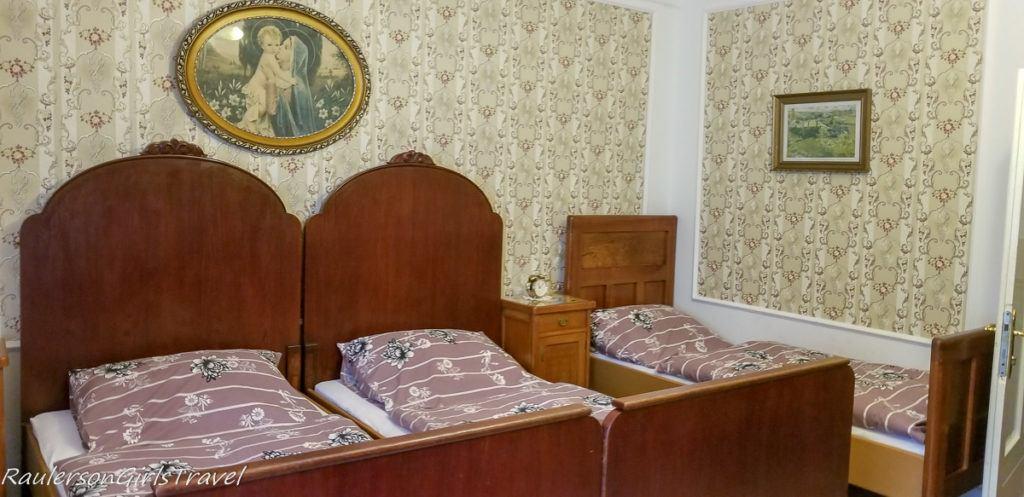 4-bed Bedroom at Svojanov Castle
