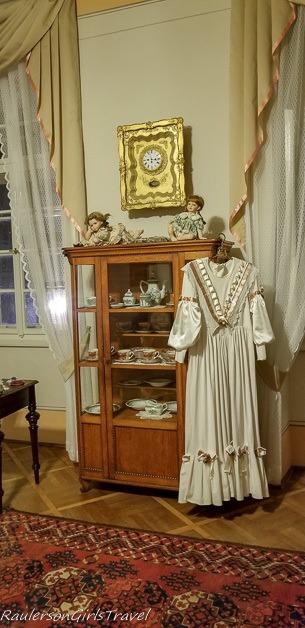 Women's living area in Svojanov Castle