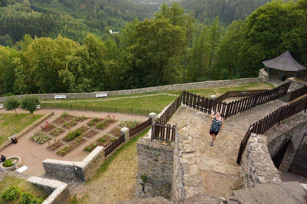 Walking the Ramparts at Svojanov Castle - Is Svojanov Castle haunted?