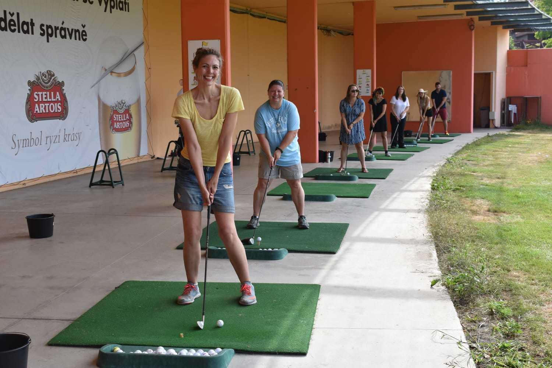 Lessons at Golf & Spa Kunětická Hora