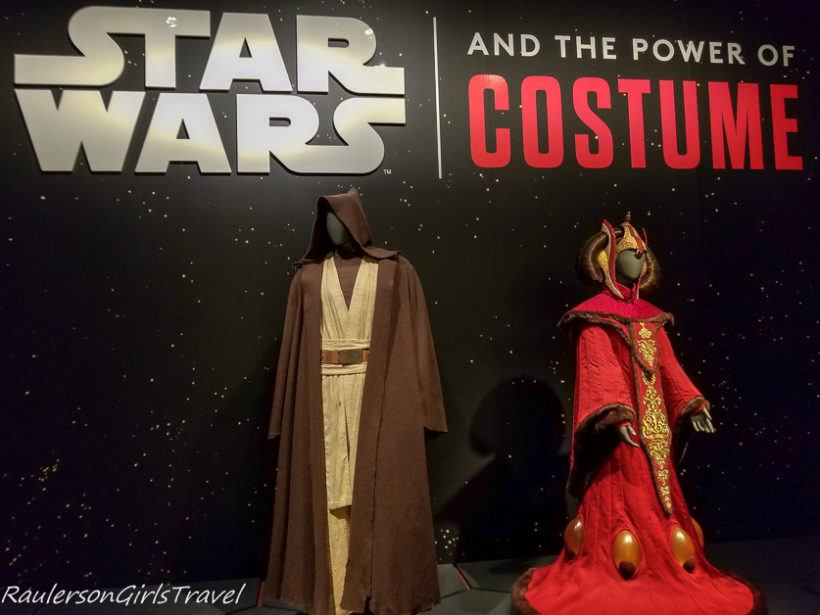 Star Wars and the Power of Costume exhibit