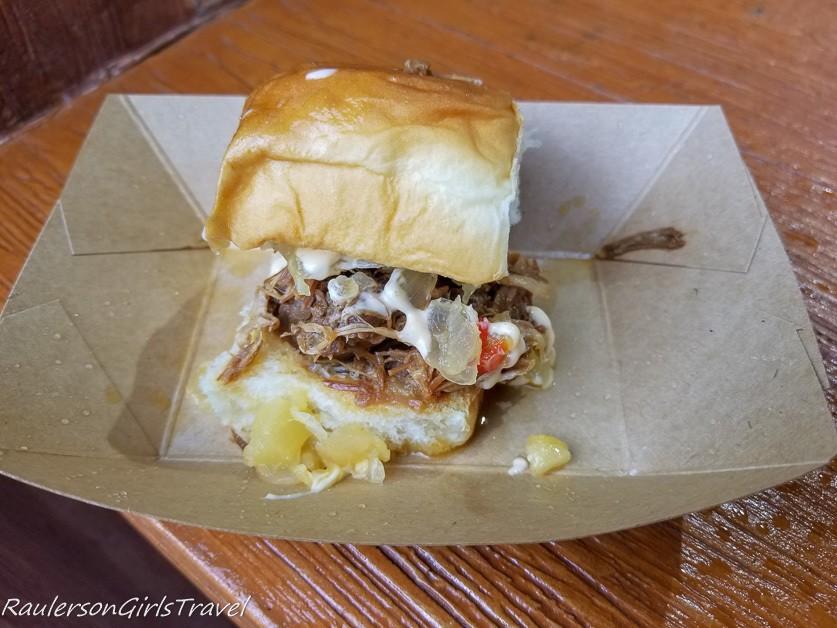 Kalua Pork Slider