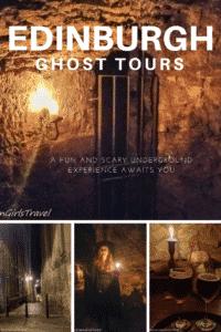 Edinburgh Ghost Tours pinterest pin