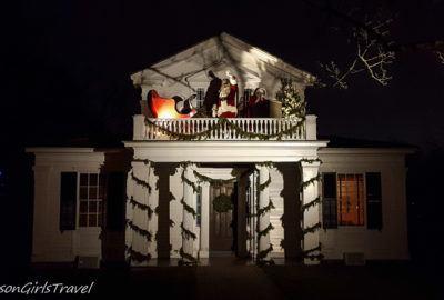 Santa Claus at Holiday Nights in Greenfield Village
