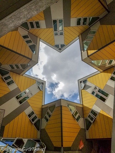 Cubes houses in Rotterdam