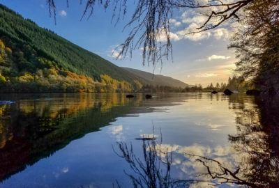 Reflections on Loch Oich