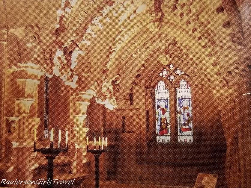 Inside Rosslyn Chapel