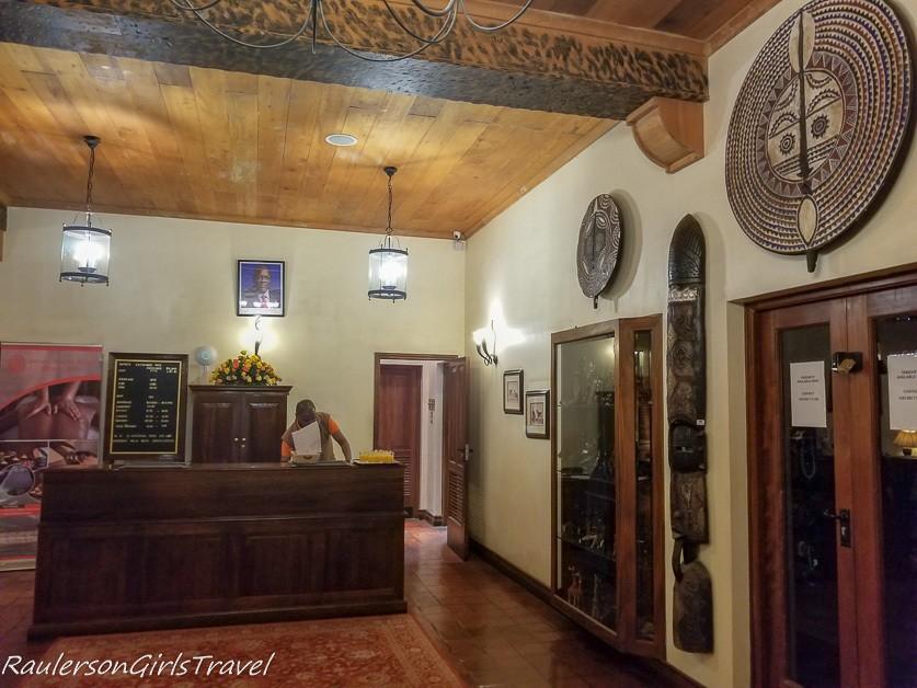 Arusha Serena Hotel Lobby