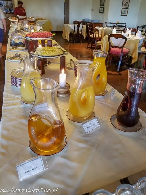 Arusha Serena Hotel Breakfast Buffet