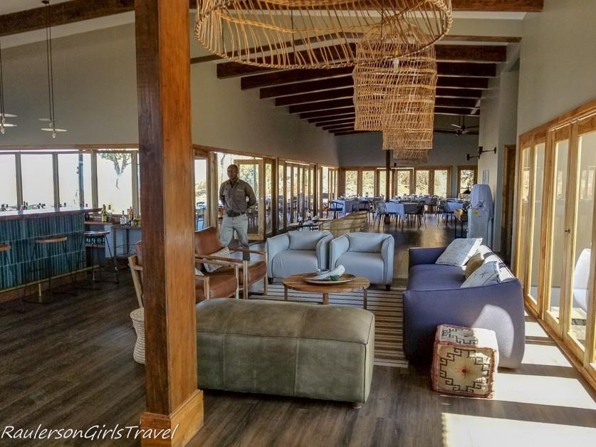Lemala Mpingo Camp Restaurant