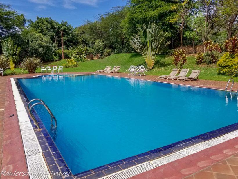 Acacia Farm Lodge Pool