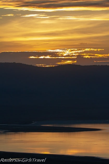 Sunrise at Ngorongoro Crater