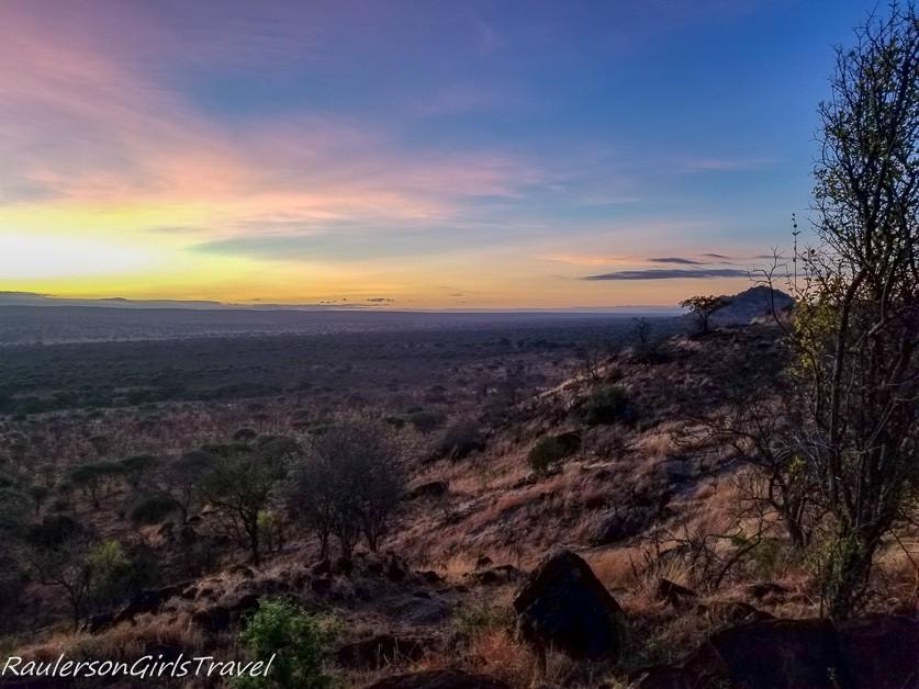 Tarangire National Park view