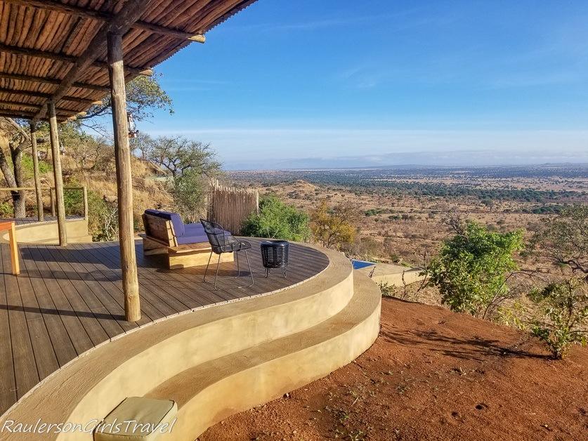 Patio View at Lemala Mpingo Camp