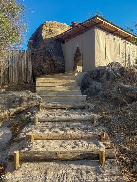 Spa Entrance at Lemala Mpingo Camp