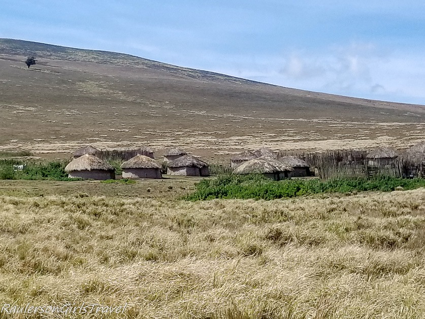 Maasai village in Ngorongoro Conservation Area