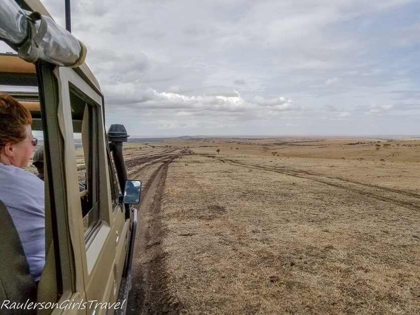 Driving to Ngorongoro on no roads
