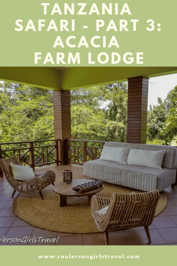 Acacia Farm Lodge Pinterest Pin