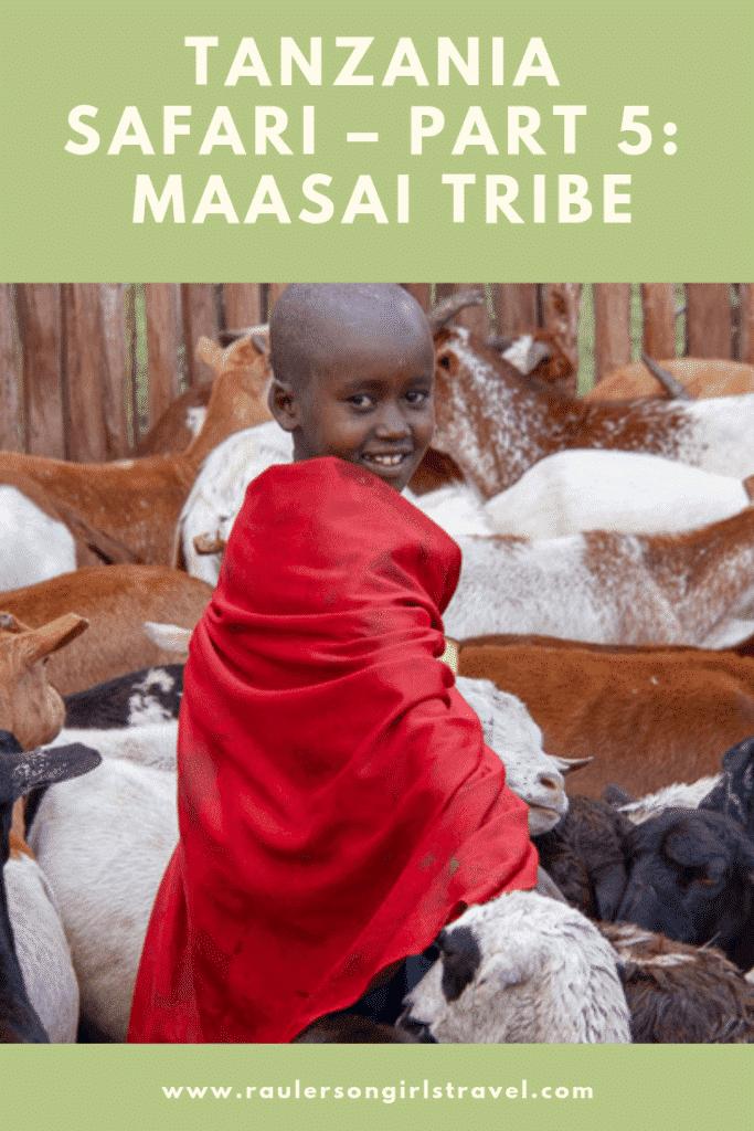 Maasai Tribe Pinterest Pin