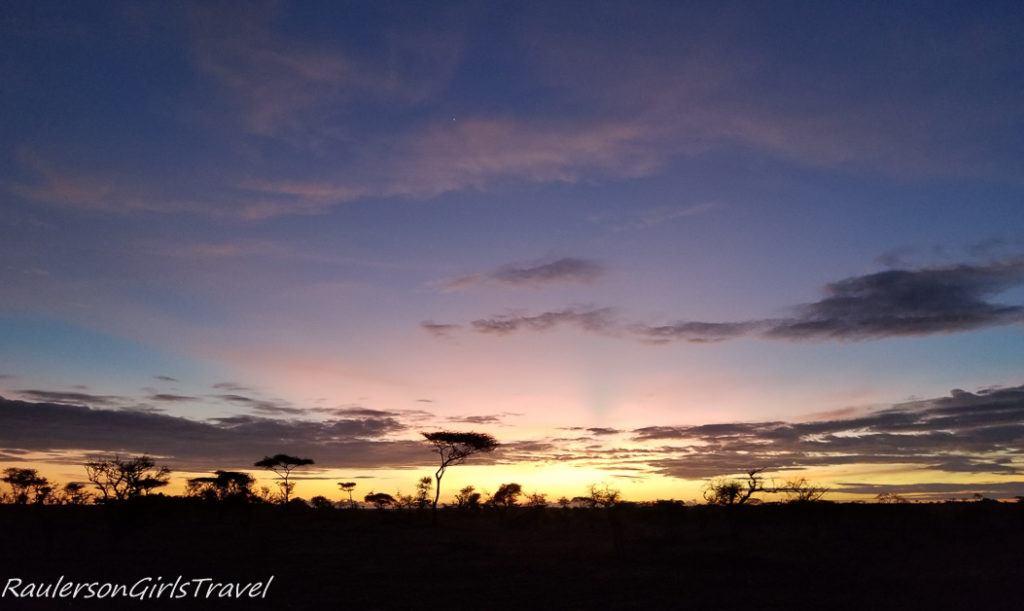 Serengeti Sunrise 5