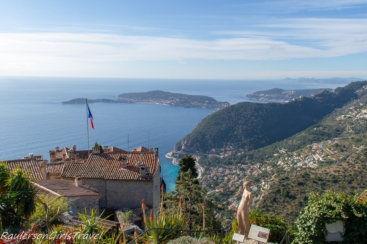View of Nice from Èze