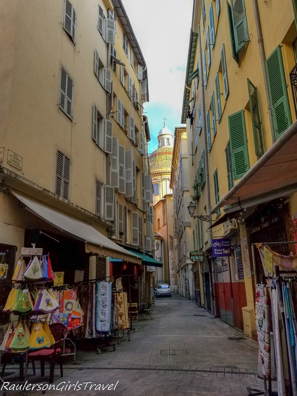 Streets in Nice