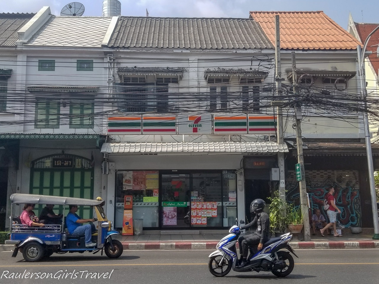 7 Eleven, Scooters, and Songthaews
