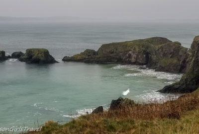 View of Carrick-a-Rede Island