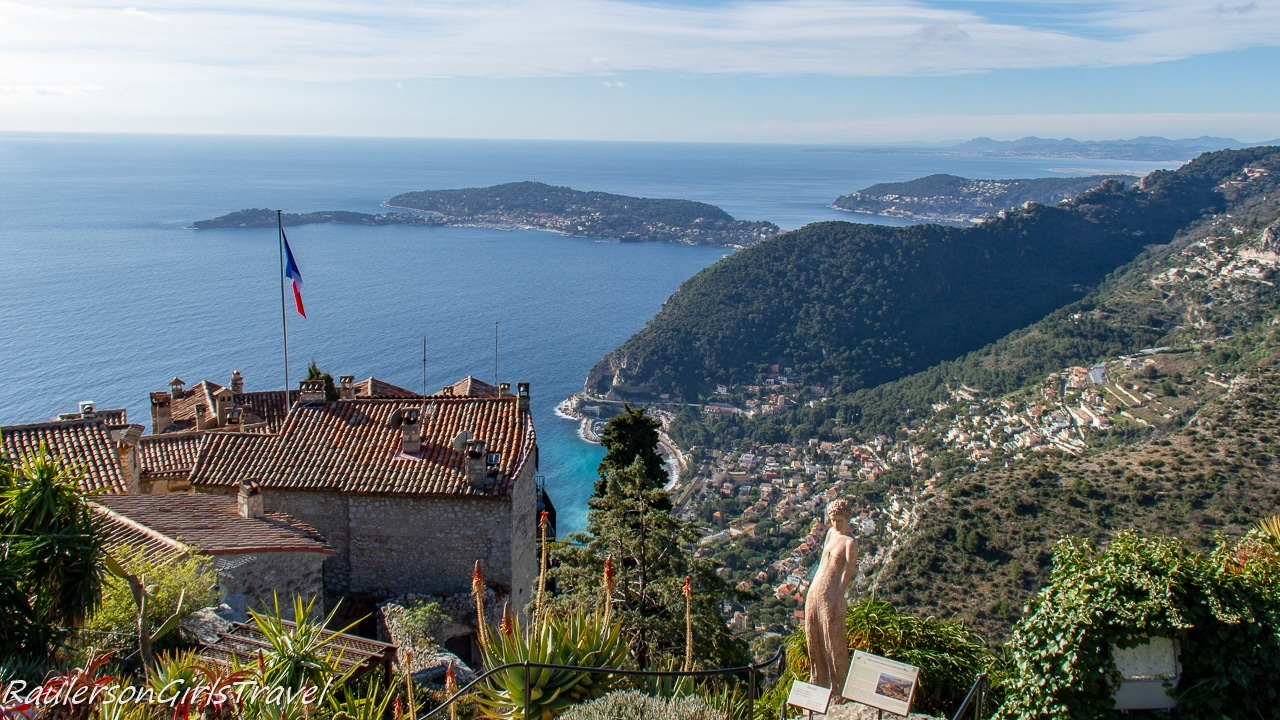 View from the Exotic Garden in Èze Village