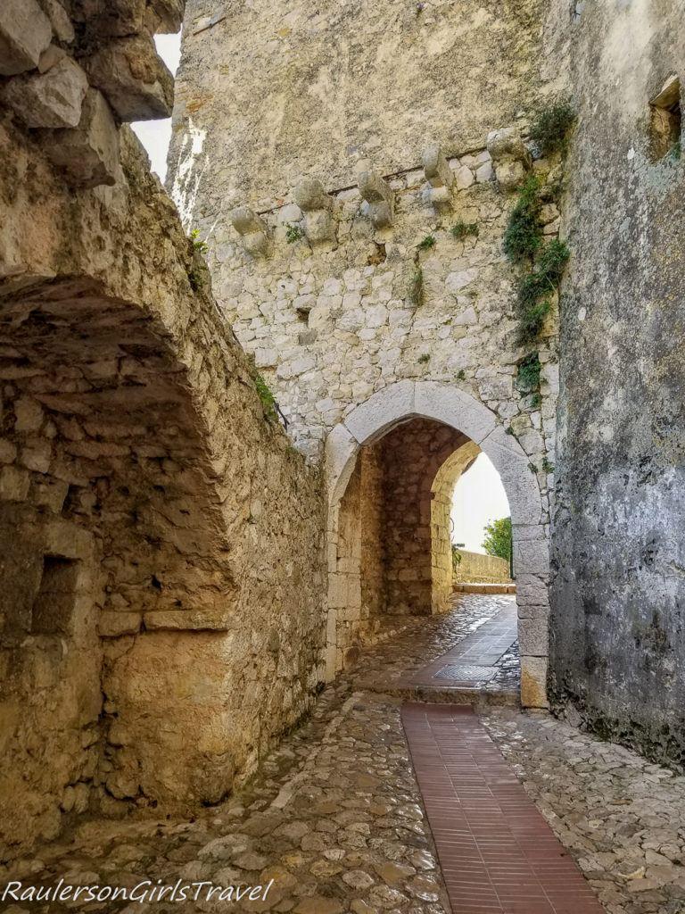 archways in Èze Village