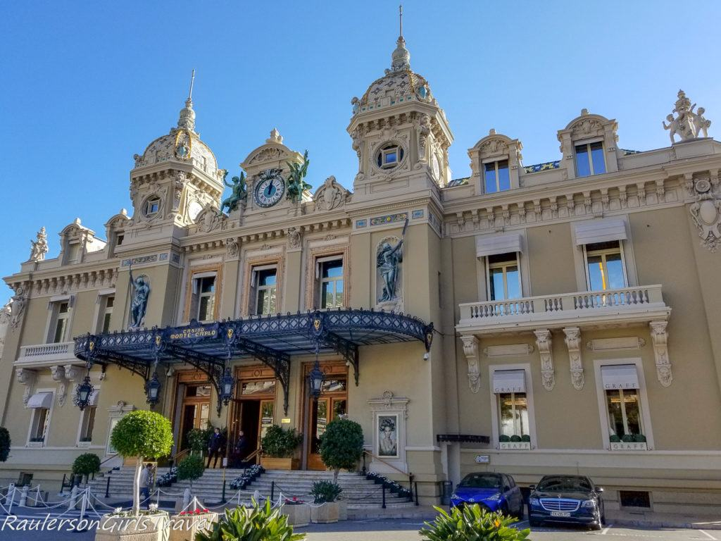 Entrance of Monte Carlo Casino