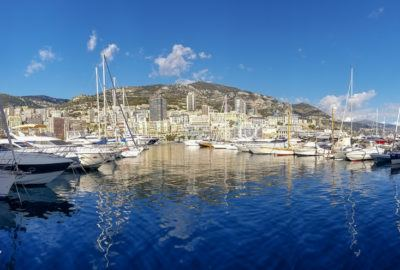Panorama photo of Monte Carlo, Monaco