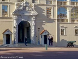 Changing of the guards at the Prince's Palace