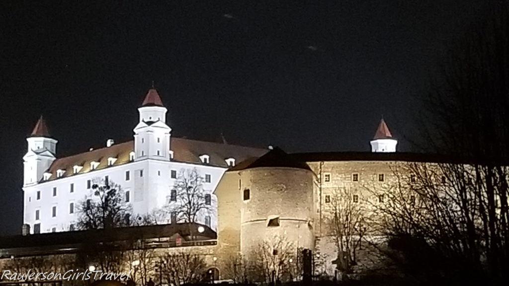 Bratislava Castle at Night
