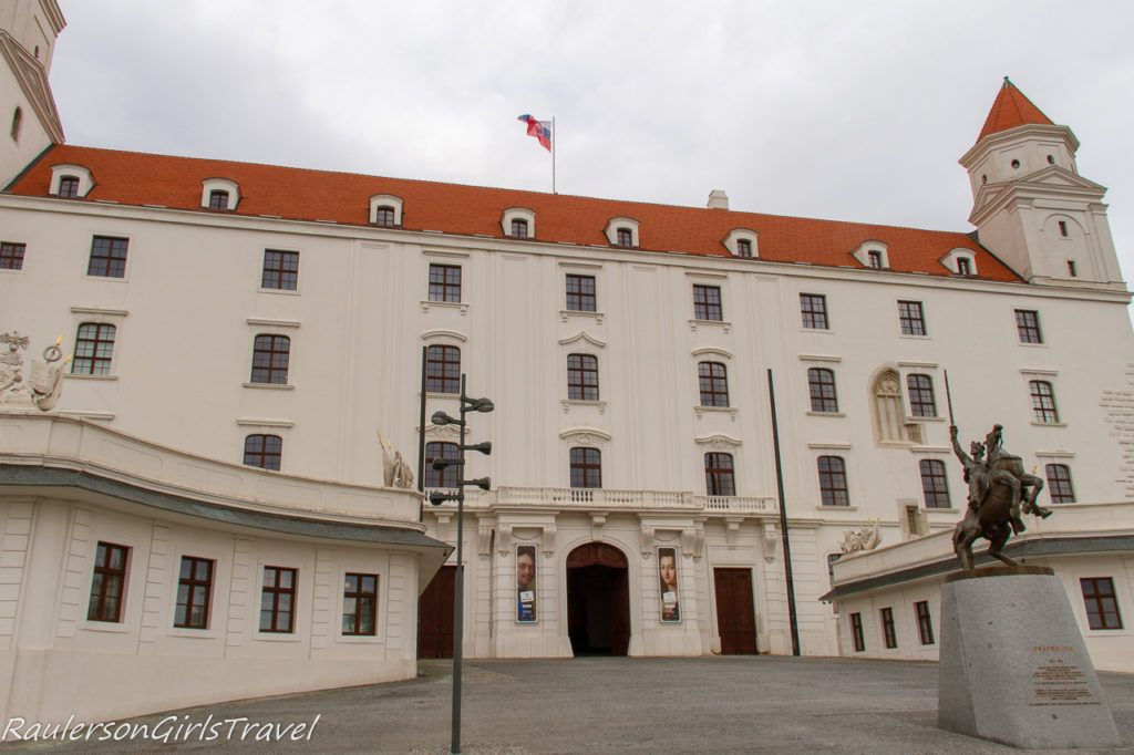 Entrance to Bratislava Castle