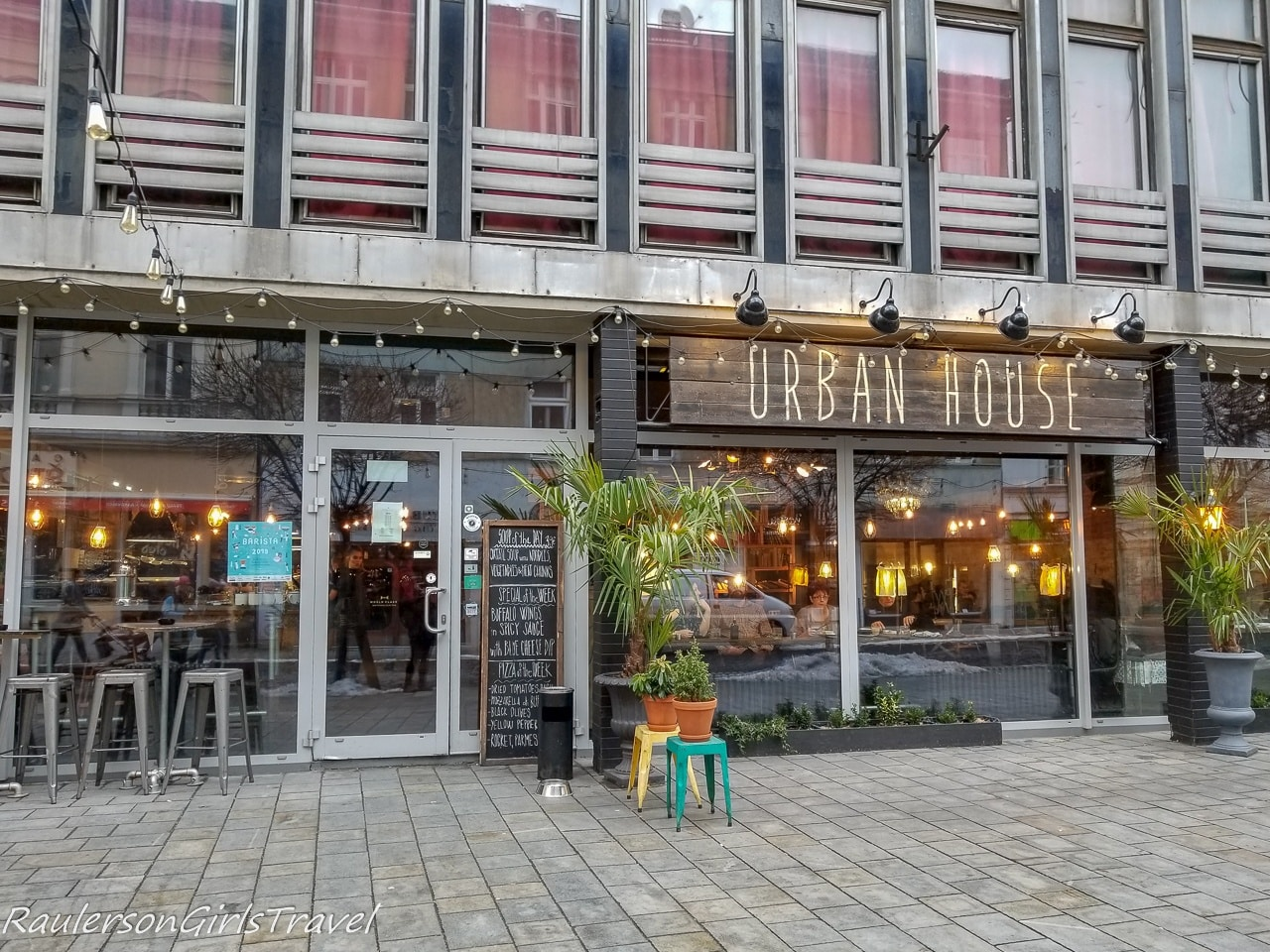 Urban House restaurant