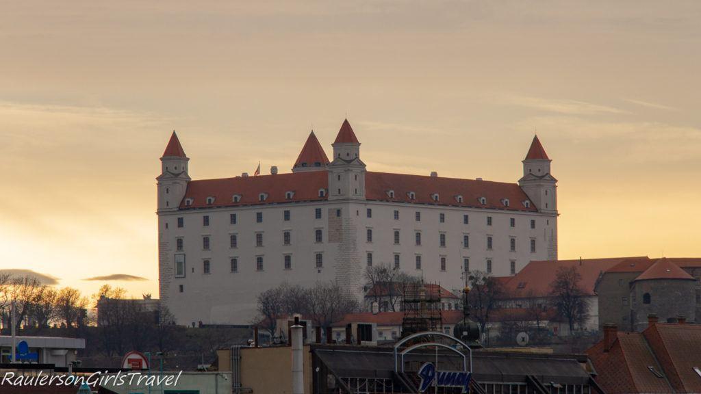 Bratislava Castle at Dusk