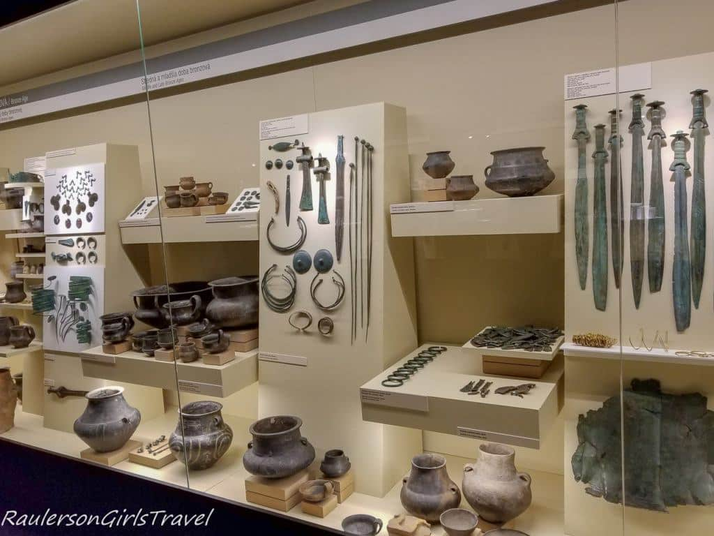 Medieval Pottery and Weapons